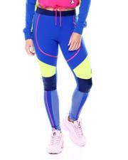 Bottoms - Color Blocked Linear Logo Leggings-2461403