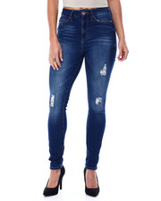 Women - Curvy Fit Distressed High Waisted Jean-2461346