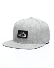 Crooks & Castles - Box Stacked Logo Snapback Hat-2461981