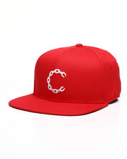 Crooks & Castles - New Chain C Snapback Hat-2461982