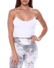Tops - Seamless Crop Cami W/Elastic Straps-2461812