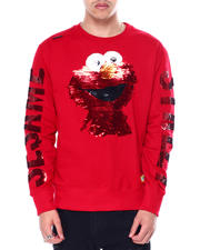 Sweatshirts & Sweaters - Elmo Sequins Crewneck Sweatshirt-2462093