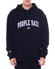 Diamond Supply Co - Cam ron x Diamond  PURPLE HAZE CHENILLE PATCH HOODIE-2461848