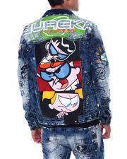 deKryptic - Dexter Eureka Denim Jacket-2461897