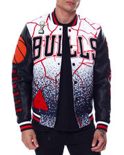 Men - BP X PRO Standard Chicago Bulls Logo Jacket-2462149