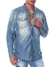 Men - Grace Ls Paint Splatter Shirt-2463030