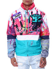 Men - Tagged Windbreaker Jacket-2463455