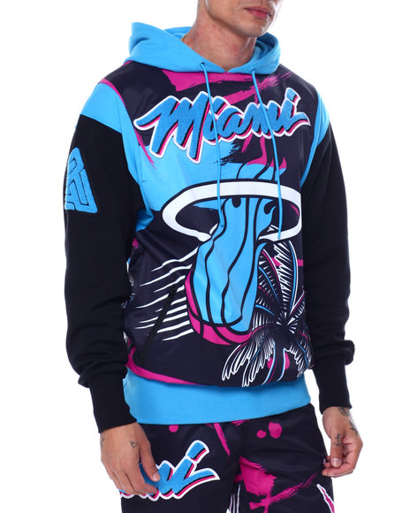 Black Pyramid - BP X PRO Standard Miami Heat Vice Team Logo Hoody
