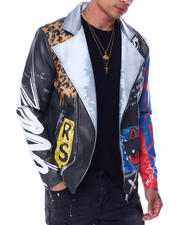Men - Flyest Teddy PU Jacket-2463121