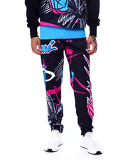 Men - BP X PRO Standard Miami Heat Vice Team Logo Pant-2463155