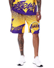 Men - BP X PRO Standard Los Angeles Lakers Logo Short-2462462