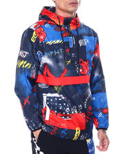 Men - Flyest Teddy Anorak-2463111