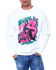 Men - Never Sleep Crewneck Sweatshirt-2463106