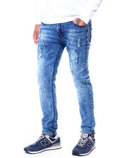 Men - Distressed Cloud Wash Stretch Jean-2463356
