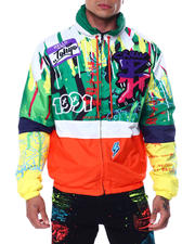 Men - Tagged Windbreaker Jacket-2463436