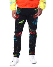 Men - Neon Splatter Slim Jean-2463442