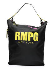 Rampage - Sporty Nylon Convertible Hobo-2461335