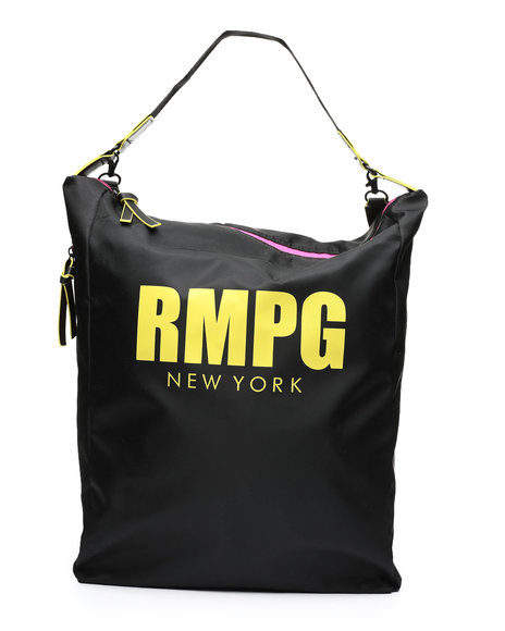 Rampage - Sporty Nylon Convertible Hobo