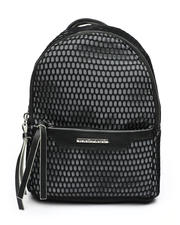 Fashion Lab - Nylon Minipack With Mesh Overlay-2461011