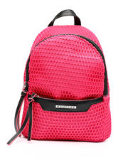 Fashion Lab - Nylon Minipack With Mesh Overlay-2461010