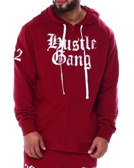 Hustle Gang - Hamptin Zip Hoodie (B&T)