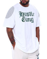 Hustle Gang - Wilberfort Short Sleeve Knit T-Shirt (B&T)-2463641