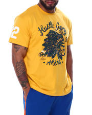 Hustle Gang - HBC Short Sleeve Knit T-Shirt (B&T)-2463646