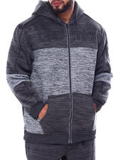 Hoodies - Full Zip Sherpa Hoody (B&T)-2461975