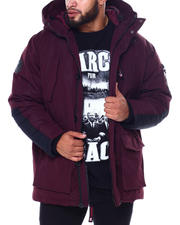Big & Tall Faves - CANADA WEATHER DOUBLE HOOD CARGO POCKET PARKA-2462650