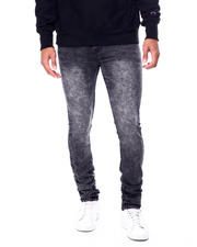 Holiday Shop - Men - Black Acid Wash Stretch Jean-2464090