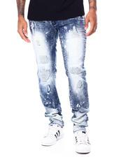Jeans & Pants - BIKER JEANS W BLEACH SPOTS-2464041