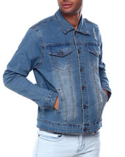 Denim Jackets - River Wash Denim Jacket-2385307