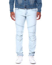 True Religion - ROCCO MOTO NO FLAP Cold Blue Wash Jean-2464375
