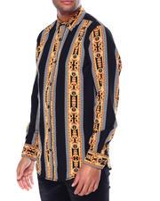 Holiday Shop - Men - Rococo Stripe LS Woven Shirt-2464097