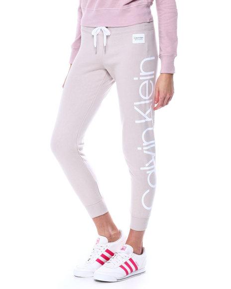 Calvin Klein - Jumbo Logo Full Length Rib Cuff