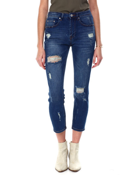 Almost Famous - Destructed Mom Jean