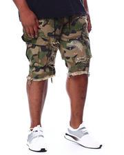 Shorts - Rip & Tear Splatter Cut Off Shorts (B&T)-2463836