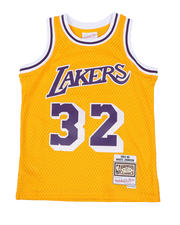Mitchell & Ness - Swingman Jersey Los Angeles Lakers Home 1984-85 Magic Johnson (8-20)-2463332