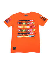 Boys - Razor Slashed Tee W/ Gradient Print (4-7)-2464182