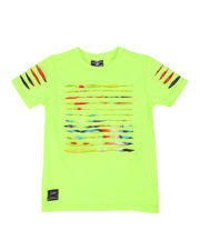 Sizes 4-7x - Kids - Razor Slashed Tee W/ Gradient Print (4-7)-2464192
