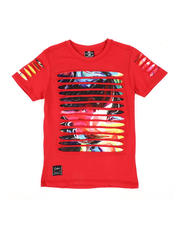 SWITCH - Razor Slashed Tee W/ Gradient Print (8-20)-2464223