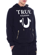 True Religion - LOGO PUFFY PRINT Hoody-2464971