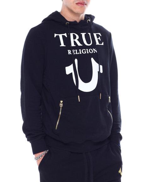 True Religion - LOGO PUFFY PRINT Hoody