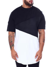 Big & Tall Faves - Cut & Sew Color Block Tee (B&T)-2465645