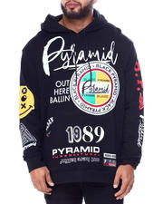 Black Pyramid - World Famous Logos Hoody (B&T)-2465672