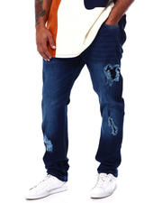 Buyers Picks - Stretch Jean W/Tone On Tone Repair (B&T)-2457478