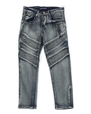 Phat Farm - Washed Side Zipper Detail Moto Jeans (8-18)-2465090
