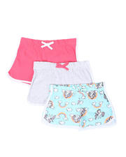 Girls - 3 Pack Shorts (4-6X)-2465393