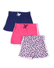 Bottoms - 3 Pack Shorts (7-16)-2465363