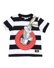 Sizes 2T-4T - Toddler - Bugs Bunny Front and Back Stripe Tee (2T-4T)-2465209